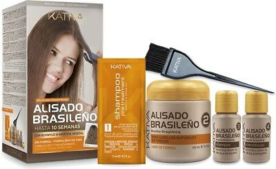 Kativa Brazilian Keratin-Haarglättungs Kit 225 ml