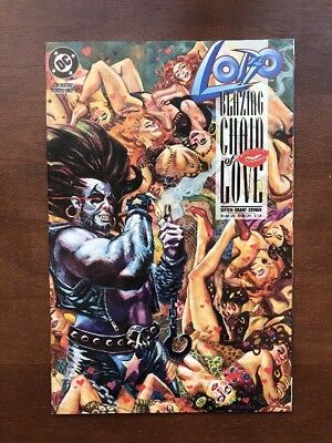 Lobo: Blazing Chain of Love #1 (1992) 9.2 NM 1st Issue DC Comic Book Key Issue