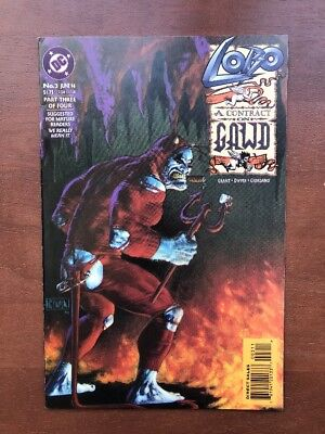 Lobo A Contract On Gawd #3 (1994) 9.2 NM DC Key Issue Comic Book Part 3 Of 4