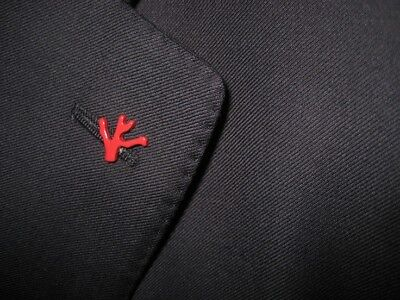 ISAIA Napoli - Red Coral Lapel Pin