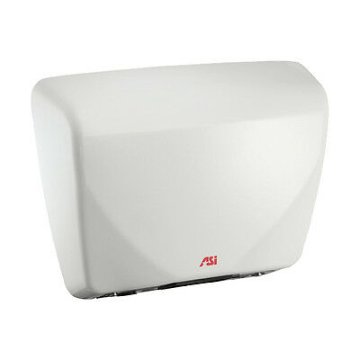 ASI Roval 10-0195 Hand Dryer, White Cast Iron Cover, Universal Voltage (110-240)