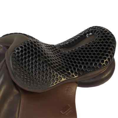 Acavallo ORTHO COCCYX Gel Out Saddle Seat Saver Black/Brown Comfort/Balance/Safe