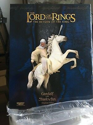 GANDALF with Shadowfax SIDESHOW statue Weta Lord of the Rings
