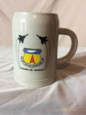 36th Tactical Fighter Wing Bitburg Germany Stein Never used