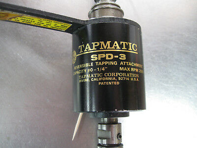 tapmatic tapping head SPD-3