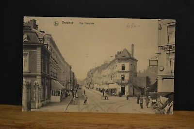 Cp  Ancienne Carte Postale Verviers - Rue Tranchee
