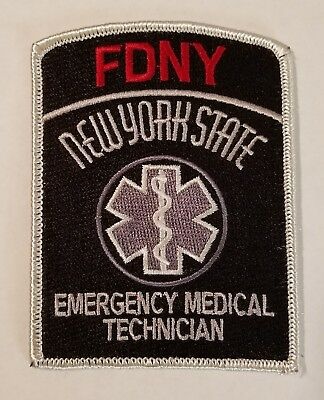 FDNY EMT Patch New York City fire department subdued tactical EMS Paramedic NYC