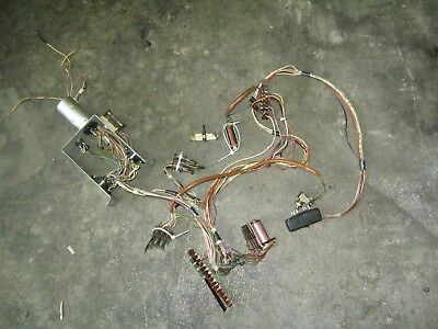 Wurlitzer Lyric   Switch Solenoid Wiring tested works
