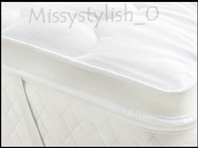 Mattress Toppers Temperature Control Air Flow - 5cm microfibre with Hollowfibre