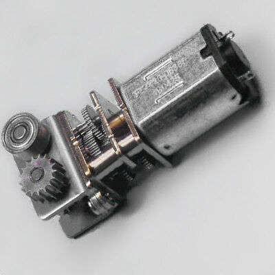 Dc12v N20 Right Angle Metal Gearbox Micro Gear Motor For 3d Printing Pen 298:1 &