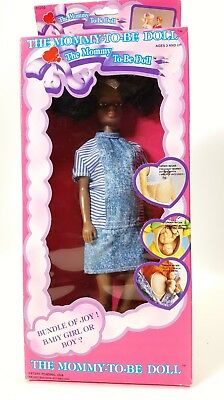 The Mommy To-Be Doll African American NRFB