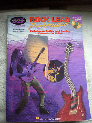 ROCK LEAD Performance - Techniques-Scales-and Soloing-Concepts for Guitar + CD