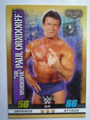 Slam Attax 10Th Edition Hall Of Fame Mr Wonderful Paul Orndorff Card Comb P&p