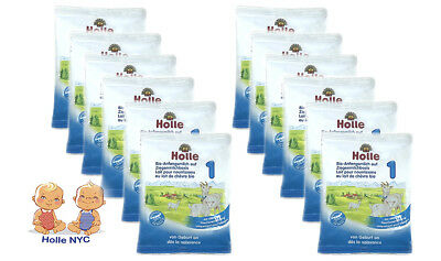 Holle Organic Goat Milk Formula Stage 1, Sample 12 Pack, FREE SHIPPING