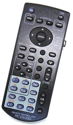 Replacement AUDIO/DVD/TV/NAV Remote For KENWOOD KNA-RCDV330 Compat DNX DDX Shown