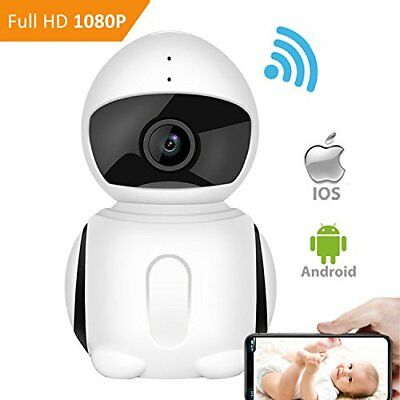 Baby Monitor Video WiFI Security Camera Night Vision Motion Detection 2-Way Talk