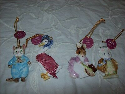 Beatrix Potter Ornaments Schmid