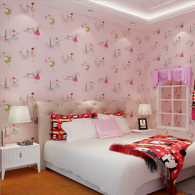 10M WALLPAPER NON-WOVEN TV Background Parlor Bedroom Living Room ...