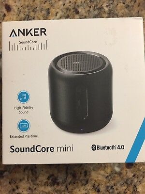 Anker SoundCore mini wireless Bluetooth Speaker with High Fidelity Sound