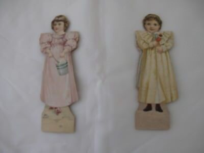Vintage Advertising Paper Doll Trade Card-McLaughlin's Coffee