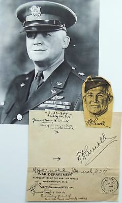 General Henry H. Arnold WW II Commander Army Air Forces Signed Autograph