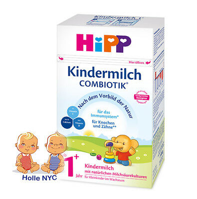 HiPP Combiotic Kindermilch 1+ Organic Milk Formula FREE SHIPPING 06/2019