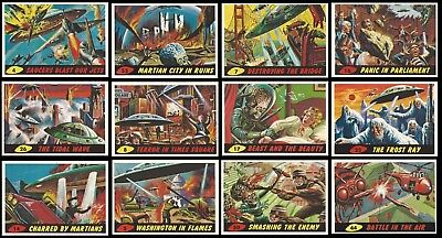 MARS ATTACKS ARCHIVES - A 1994 TOPPS SET Inc 1962 SET + 11 UNPUBLISHED + COMIC +