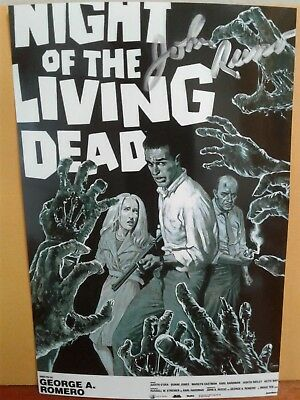 John Russo Authentic Hand Signed Autograph 4X6 Photo - NIGHT OF THE LIVING DEAD