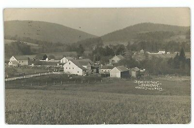 RPPC Bridgeport PA ARENDTSVILLE Adams County Pennsylvania Real Photo Postcard
