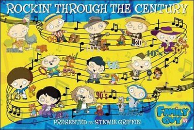 Family Guy Stewie Century of Music Poster 24900