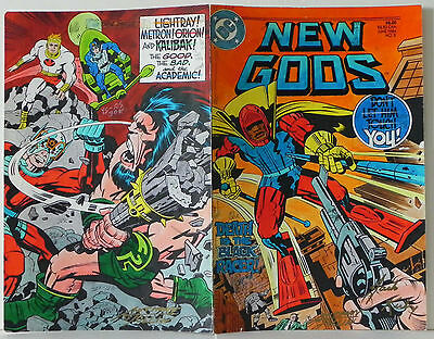 NEW GODS BOOK 2 COVER JACK KIRBY ORIGINAL COLOR GUIDE PRODUCTION ART SIGNED wCOA