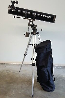 Bushnell Reflector Telescope 900mm x 114mm Equatorial Mount