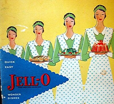 Vintage 1930 Jello Advertising Cook Book / Recipes  --  In an Art Deco Style