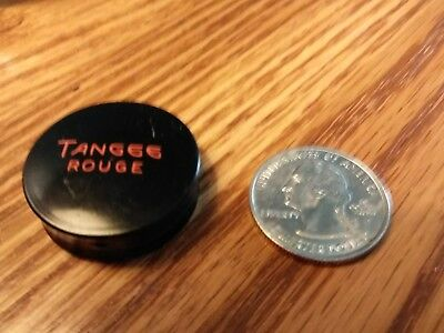"""Vintage Tangee Rouge, 1 1/8"""", packed by George W. Luft Co. NewYork,NY"""
