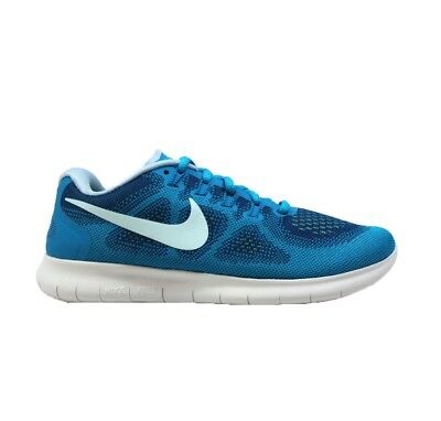 a69022cc9133 Nike Nike Free Run 2017 Womens Gym Blue Running Trainer Shoe Size 5 5.5 6 7