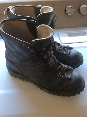 "96e262658e9 DANNER ELK HUNTER 8"" Boots - Mens Size 10.5 Leather Gore-tex Made In USA"