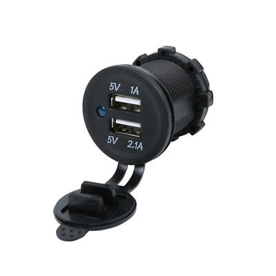 Golf Cart Charger for Phone USB Accessories - Dual Ports - 1A and 2.1A