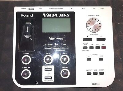 Roland VIMA JM-5 Entertainment Module / Karaoke Backing tracks usw