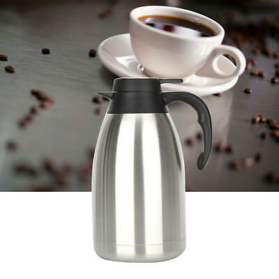 Stainless Steel Thermal Coffee Carafe Durable Vacuum Thermos for Kitchen Home