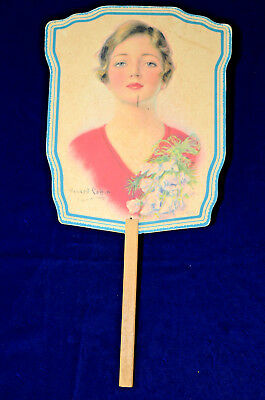 Vintage Stautland, Missouri advertising paper fan