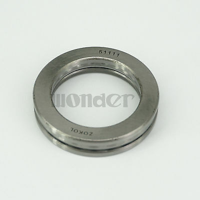 (1)51111 55 x 78 x 16mm Axial Ball Thrust Bearing (2 Steel Races + 1 Cage)ABEC-1