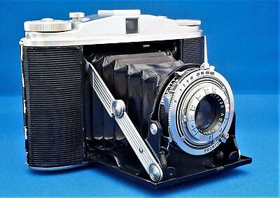AGFA ISOLETTE 2 Prontor S AGFA APOTAR 1:4.5/85mm 6x6 TOP !!!