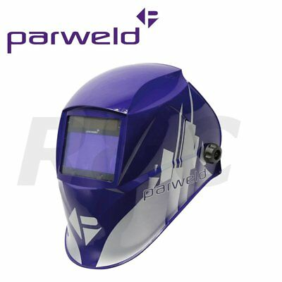 Parweld XR936H/P Large View Light Reactive Welding Helmet Mask Slim Lightweight