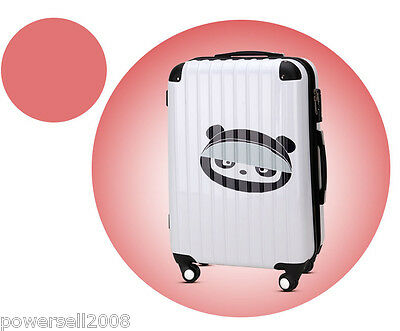 "#15 28"" Lovely Cartoon Bear Universal Wheel ABS+PC Travel Suitcase Luggage LLX"