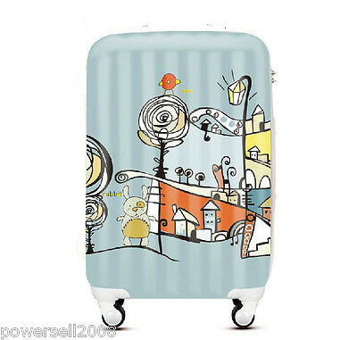 "28"" New Cartoon Coded Lock Universal Wheel ABS+PC Travel Suitcase Luggage LLX"