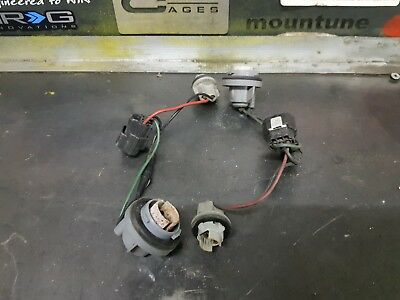 mazda rx7 fd3s 13b front sidelight wiring loom harness