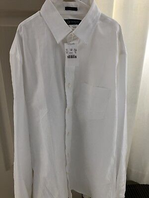 Boy's size 16 NWT JCrew Crewcuts Thompson white dress shirt