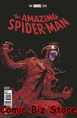 Amazing Spider-Man #796 (2018) 2Nd Printing Hawthorne Variant Cover