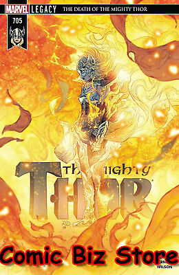 Mighty Thor #705 (2018) 1St Printing Bagged & Boarded Marvel Legacy Tie-In