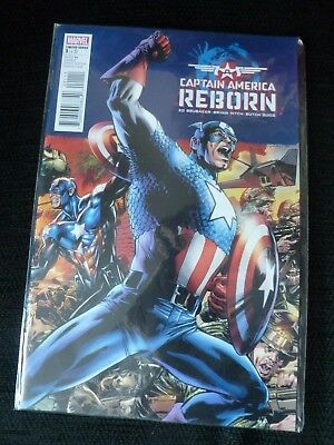 Captain America Reborn Marvel Comic Limited Series number 1  new